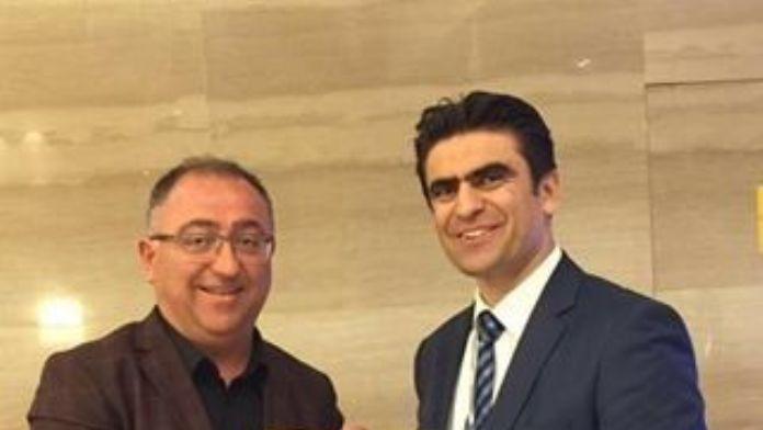 Salman'dan Şangay Başkonsolosu Şahin'e Ziyaret