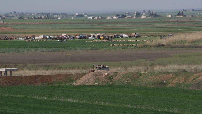 Çobanbey'de IŞİD - ÖSO çatışmaları şiddetlendi