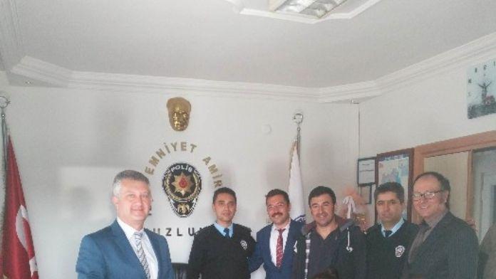 Tuzlukçu'da Polis Haftası Kutlaması