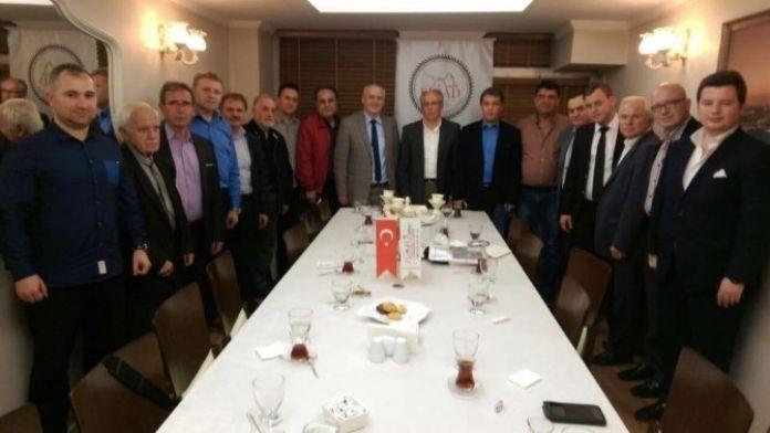 Başkan Yoldaş'tan Eskişehir Rumeli İş Adamları Derneği'ne Ziyaret