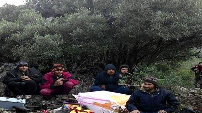 Aydın'da 4 Kaçak Göçmen Yakalandı