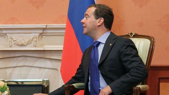 Rusya Başbakanı Medvedev Azerbaycan'da