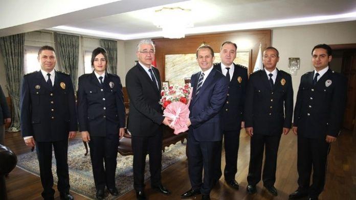 Türk Polis Teşkilatı'nın Kuruluşunun 171. Yılı Ve Polis Haftası