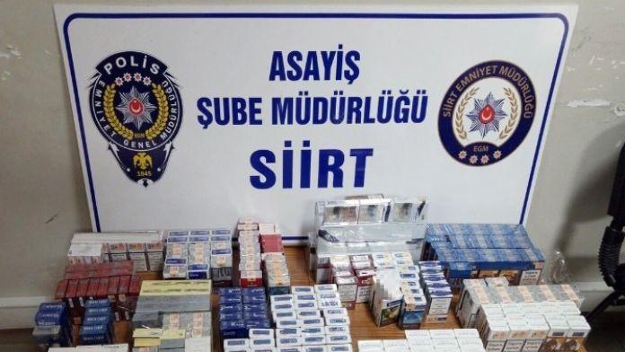 Siirt'te 3 Ayda 81 Kişi Tutuklandı