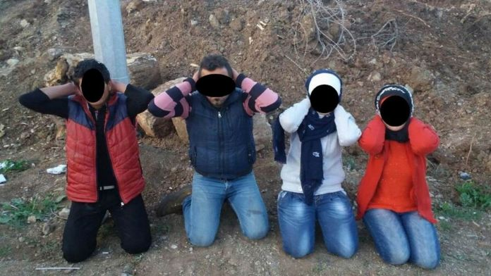 Türkiye'ye sızmaya çalışırken yakalandılar