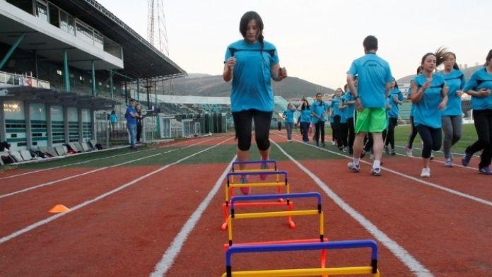 Büyükşehir'in Spor Özel Yetenek Kursları Başladı