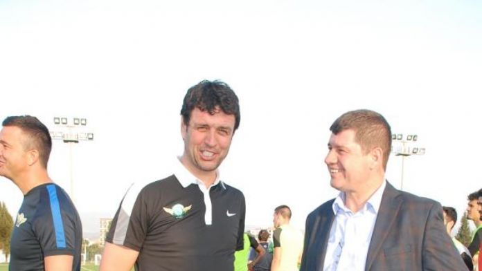 Akhisar Belediyespor teknik direktörü Arslan'a ağabey ziyareti