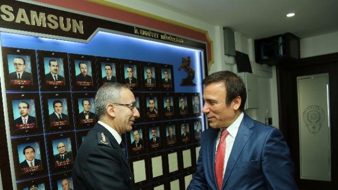 Genç'ten Yavuz'a 171. Yıl Ziyareti