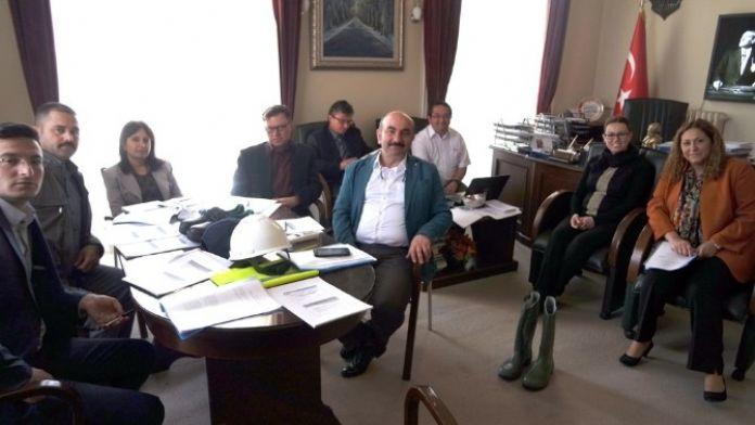 Edirne Belediyesi'nde İş Sağlığı Ve Güvenliği Eğitimi Kurulu Toplantısı