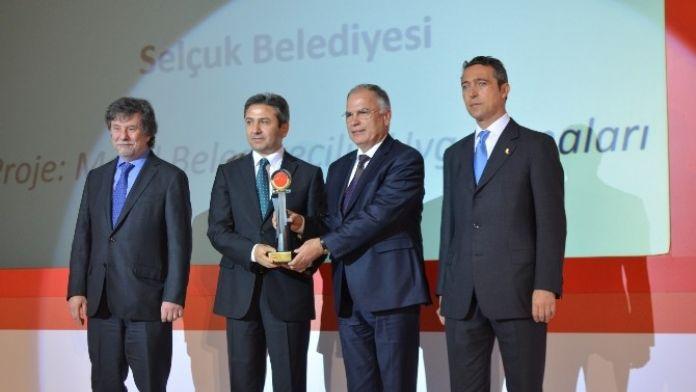 13. E-tr Ödülü Selçuk Belediyesi'nin