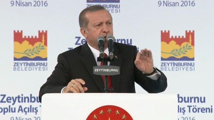 Erdoğan: PYD'ye terör örgütü demiyorsan...