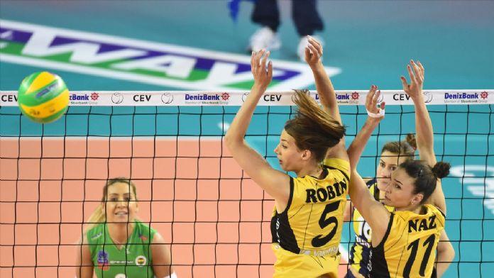 Voleybol: Kadınlar DenizBank CEV Şampiyonlar Ligi Dörtlü Finali