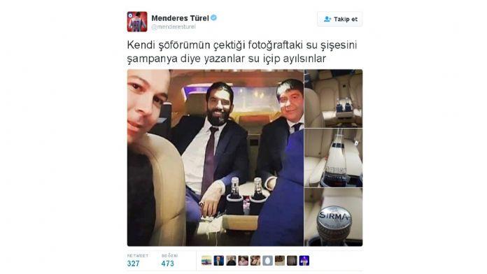 Menderes Türel'den fotoğraflı cevap