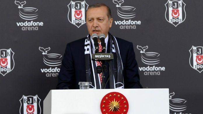 Erdoğan: Bol gollü galibiyetler temmeni ediyorum