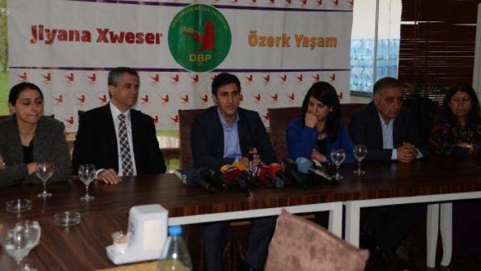 DBP Eş Başkanı Yüksek: Belediyelere el koymak darbedir, buna izin vermeyiz