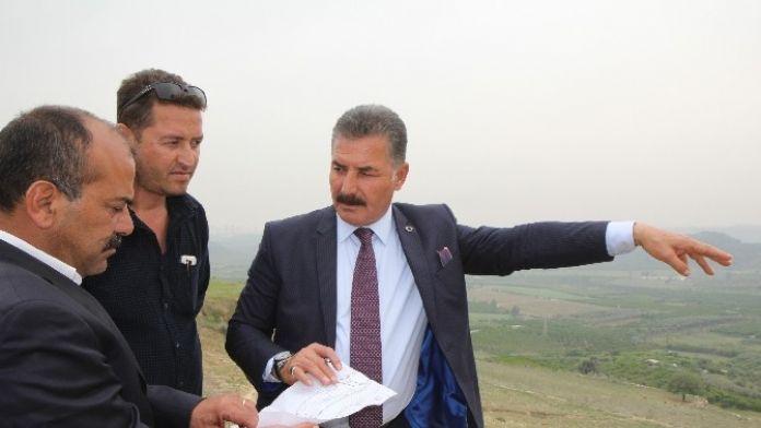Toroslar'a 'Alparslan Türkeş Parkı' Yapılıyor