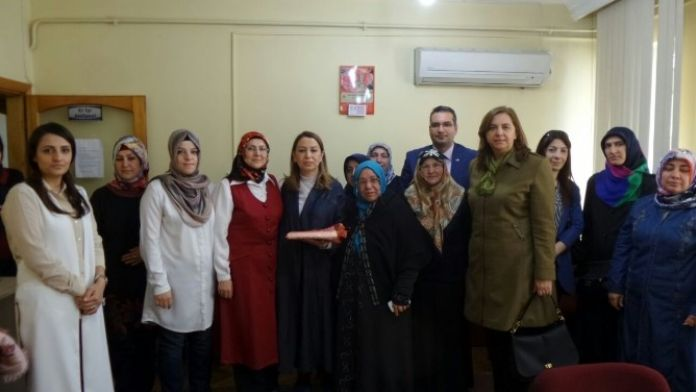 Çalık'tan Kadın Derneğine Ziyaret