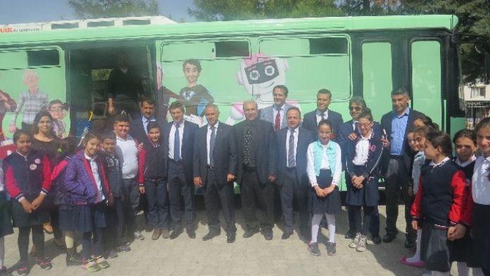 Sosyal Güvenlik Otobüsü Gaziantep'te