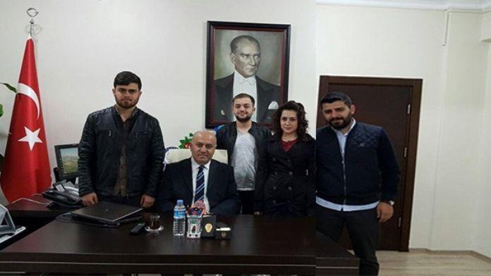 AK Gençlerden İl Müdürü Bektaş'a Ziyaret