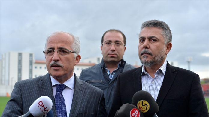 Eskişehir Valisi Tuna'dan Eskişehirspor'a moral ziyareti