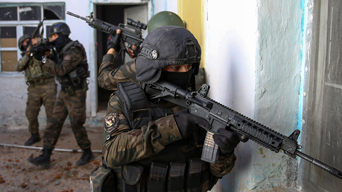 Turuncu listedeki PKK'lı öldürüldü