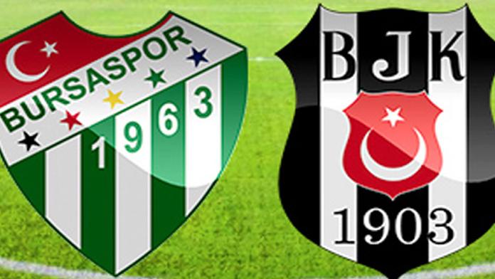 Beşiktaş - Bursaspor maç özeti