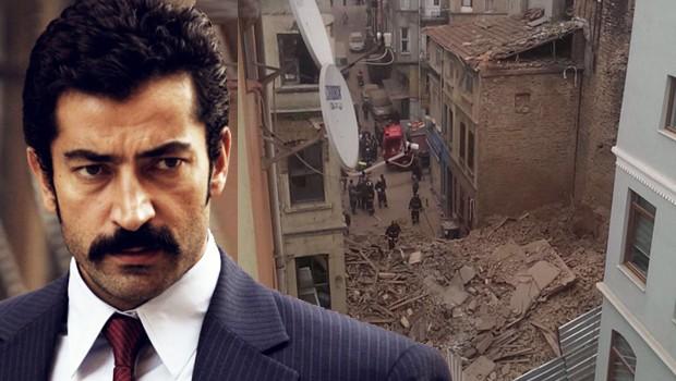 Beyoğlu'nda Çöken Bina Kenan İmirzalıoğlu'nun Akrabası Burak Mirza'nın çıktı