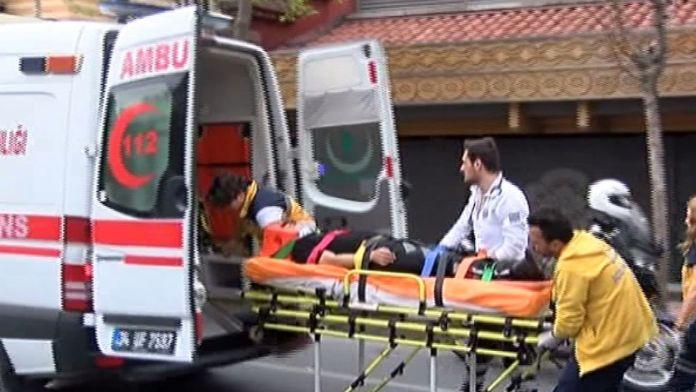 İstanbul'da trafik kazası: 2 polis yaralandı