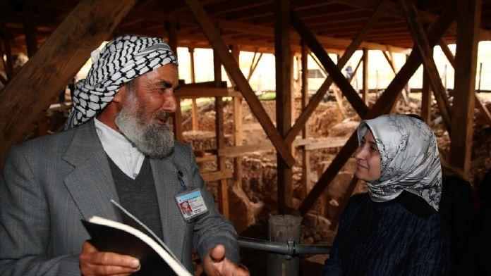 Sare Davutoğlu, Göbeklitepe'yi ziyaret etti