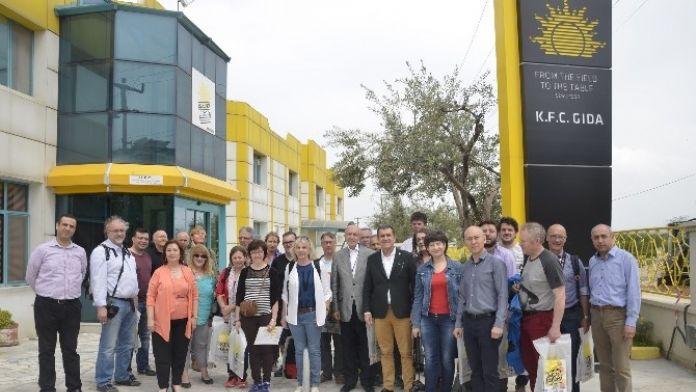 Yabancı Tarım Gazetecileri İzmir'e Hayran Kaldı