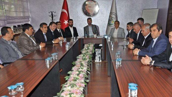 Başkan Dimez'den, Gölbaşı İlçesine Ziyaret