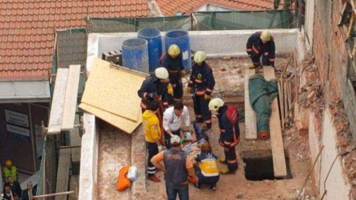 Şişli'de apartmanda göçük: 1 kişi enkaz altında