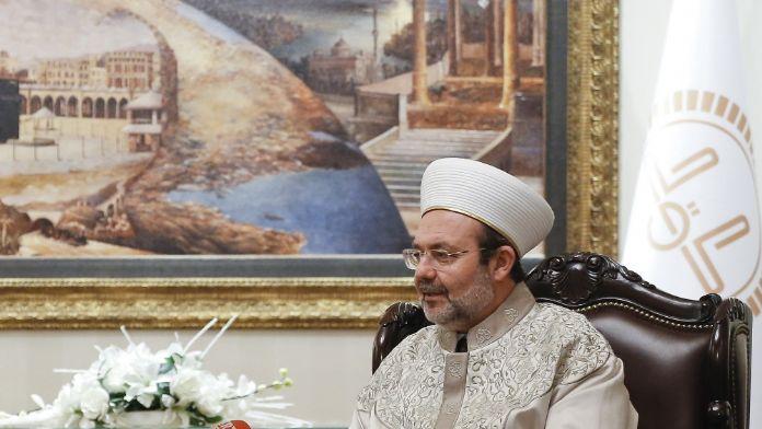 Görmez'den Suudi Bakan'a: İslamofobi ile birlikte...