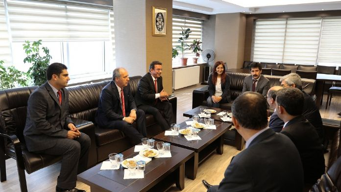 CHP heyetinden HDP'li belediyeye ziyaret