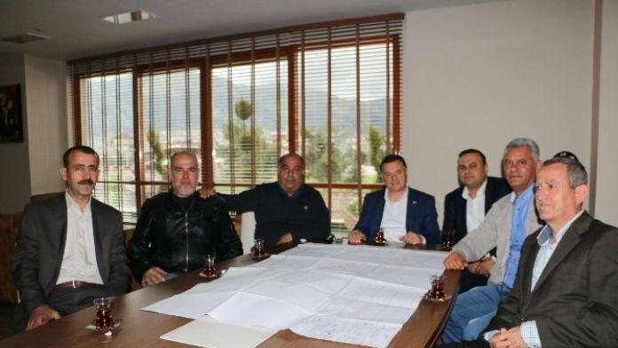 Reyhanlı Küçük Sanayi Yapı Kooperatifi'nden Başkan Savaş'a Ziyaret