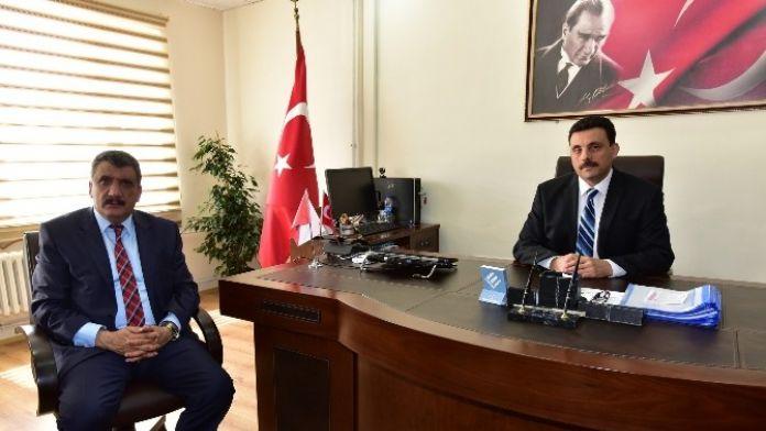 Başkan Gürkan, Nalçacı'ya 'Hayırlı Olsun' Ziyaretinde Bulundu