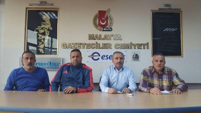 Tsyd Malatya Şubesi, Hakemlere Seslendi