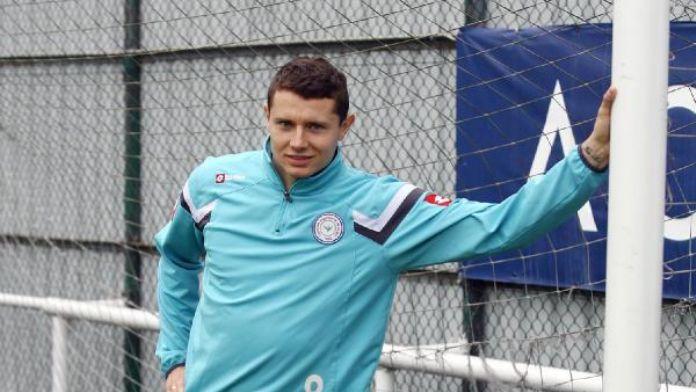 Çaykur Rizespor'un son dakika golcüsü Tuszynski iddialı