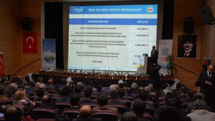 DİKA, Siirt'te Devlet Destekleri Anlatıldı