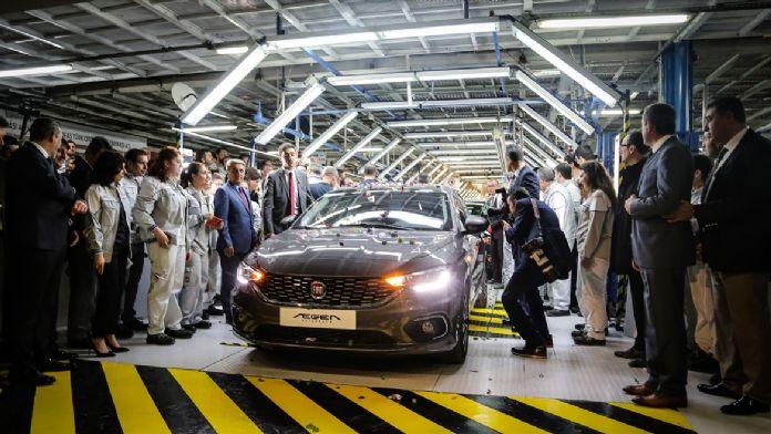 Fiat Egea hatchback üretime başlangıç töreni