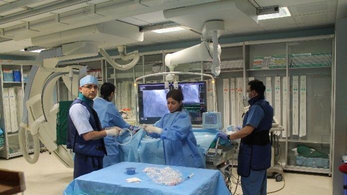 Hastanenin Anjiyo Ünitesi Bölgeye Hizmet Ediyor