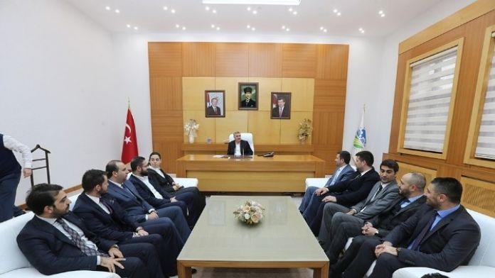 Başkan Toçoğlu Milli Birlik Ve Düşünce Derneği'ni Ağırladı