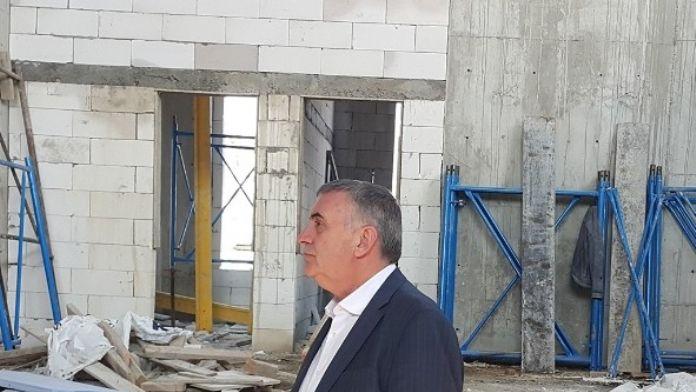 Başkan Toçoğlu Karasupark Projesinde Devam Eden Çalışmaları İnceledi