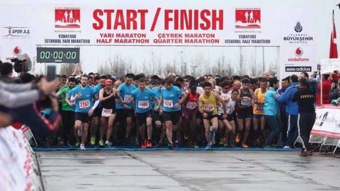 Vodafone İstanbul Yarı Maratonu için geri sayım