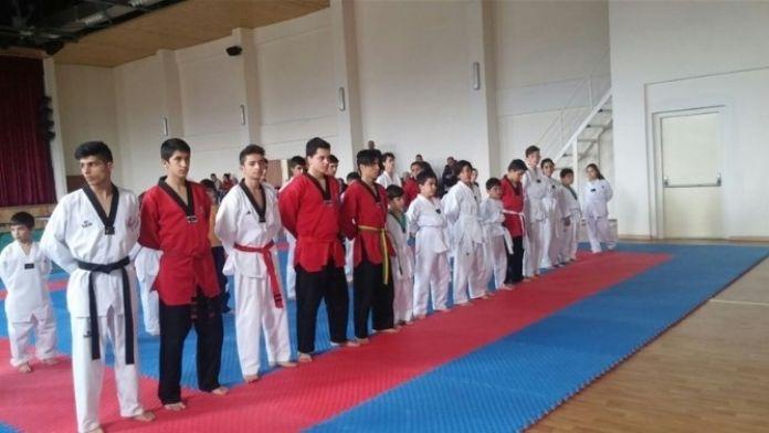 Taekwondo Kemer Sınavı Yapıldı