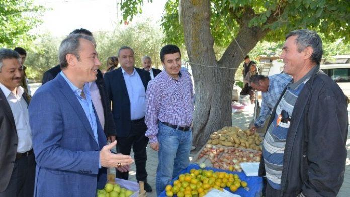 AK Partili Tin'den Genç Çiftçilere Hibe Müjdesi