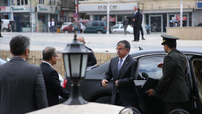 Milli Savunma Bakanı Yılmaz, Kilis'te