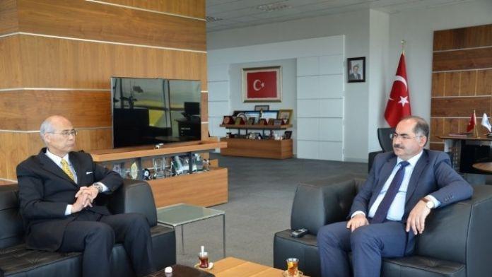 Japonya İstanbul Başkonsolosundan Üniversitemiz Rektörüne Ziyaret