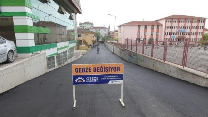 Gebze'de Öğrencilere Yayalaştırılmış Sokak