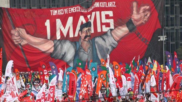 DİSK 1 Mayısta Taksim'de!